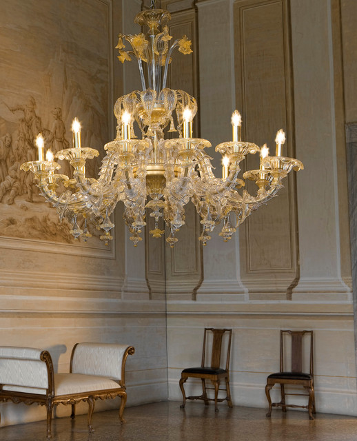 Sylcom Scena Ca Rezzonico glass chandelier in sale by Topdomus ...