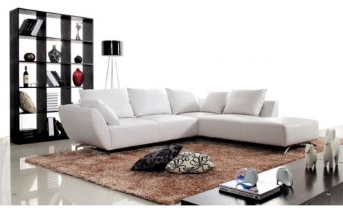 Madalina corner lounge with chaise modern sofas for Chaise lounge brisbane