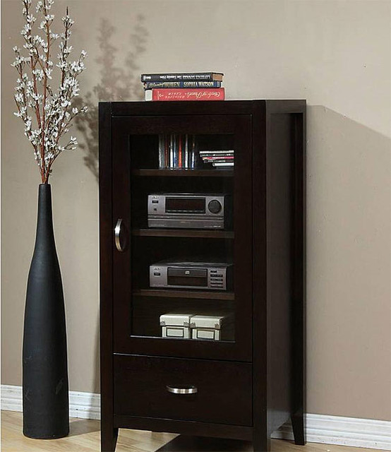 Axium Audio Cabinet - Contemporary - Home Electronics - by ...