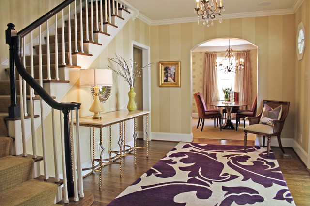 Living Spaces Transitional Entry Charlotte By Lucy