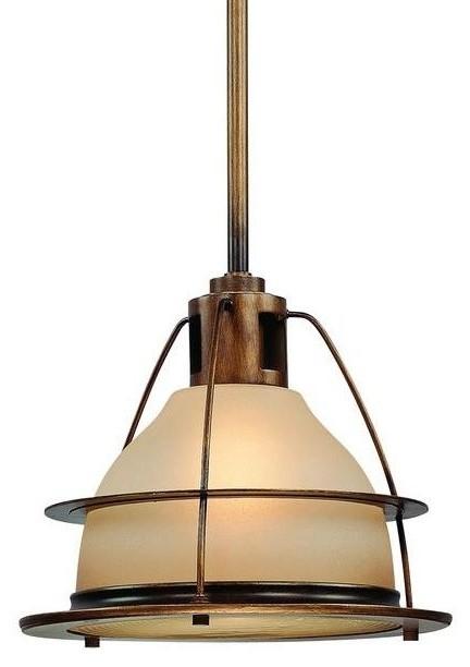 Traditional Outdoor Pendant Lighting : Restoration warehouse bristol bay pendant sunset bronze