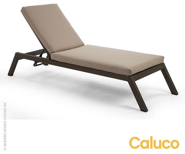 Caluco gracia single chaise modern chaise longue los for Chaise longue modern