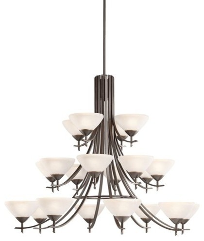Kichler  Tier Chandelier Transitional Chandeliers By Buildcom