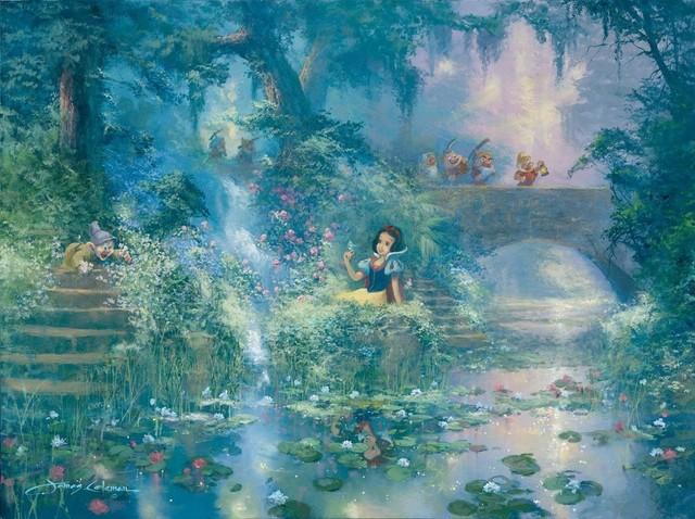 Disney Fine Art Picking Flowers by James Coleman ...