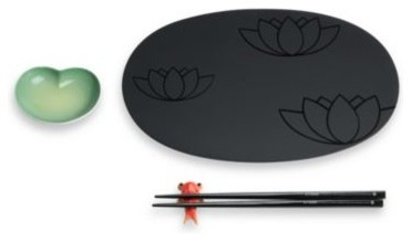 Alessi lily pond sushi set contemporary dinnerware - Alessi dinnerware sets ...