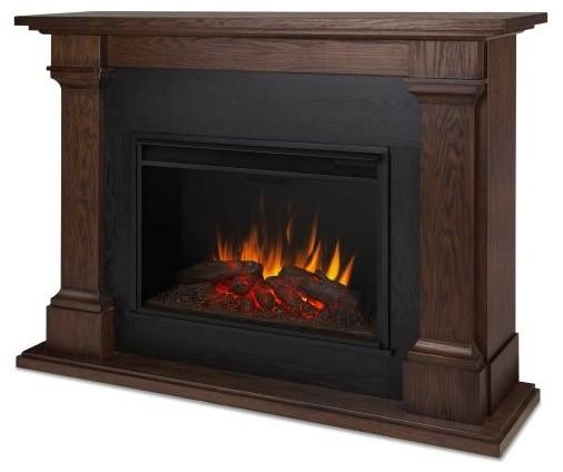 callaway grand indoor electric fireplace chestnut oak