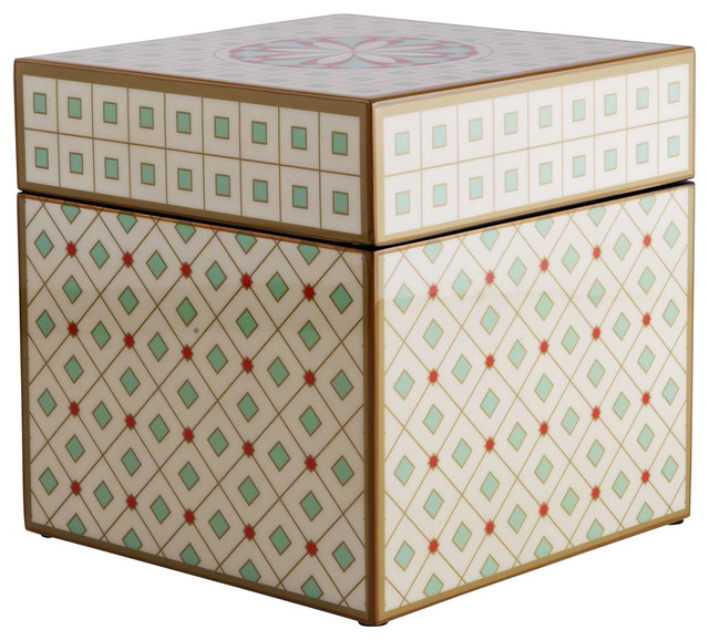 Decorative Storage Boxes Uk : Unique hui square box by piling palang eclectic