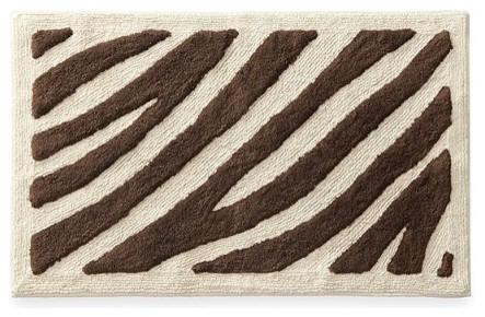 Delightful Zebra Bathroom Rugs