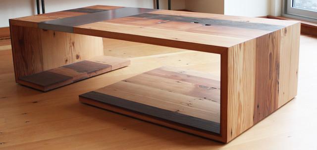Wrap Coffee Table Modern Coffee Tables Portland By