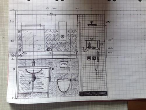 badezimmer renovierung wie hoch sollte ein vorsprung im bad sein. Black Bedroom Furniture Sets. Home Design Ideas