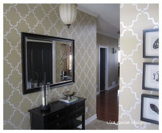 Entry way contemporary entry ottawa by lisa goulet for Modern home decor ottawa
