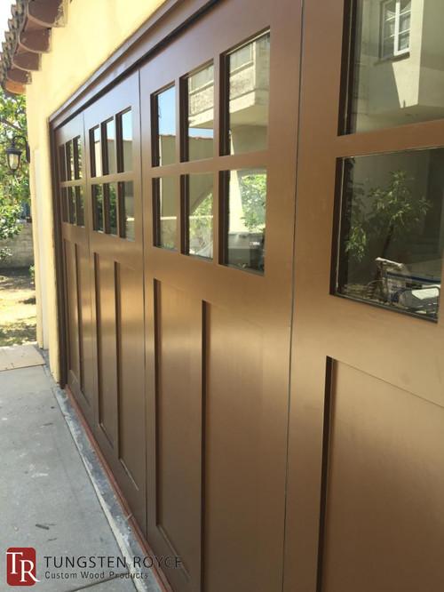 Sliding Carriage Garage Door