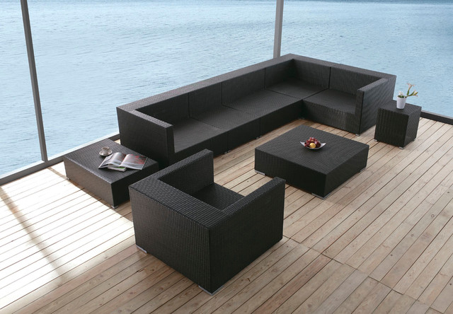 Koro outdoor sofa set   moderne   udendørs loungesæt   los angeles ...