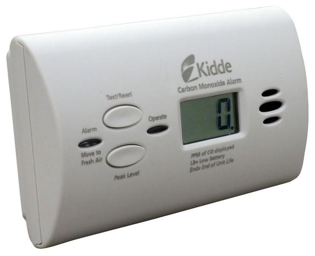 Kidde KN-COPP-B-LPM Battery-Operated Carbon Monoxide Alarm with Digital Display - Carbon ...
