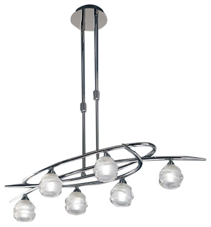 Mantra Lighting  Light Chandelier Contemporary Chandeliers By Buildcom