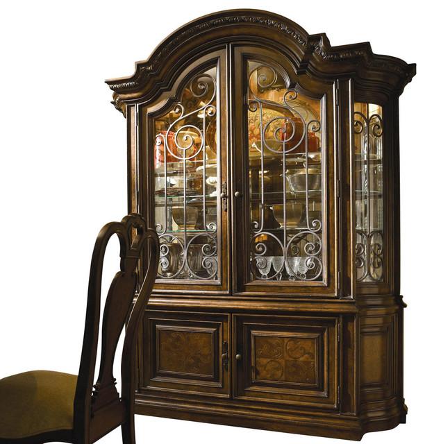 Universal Furniture Bolero China w/ Hutch - Traditional - Furniture - by Bedroom Furniture Discounts
