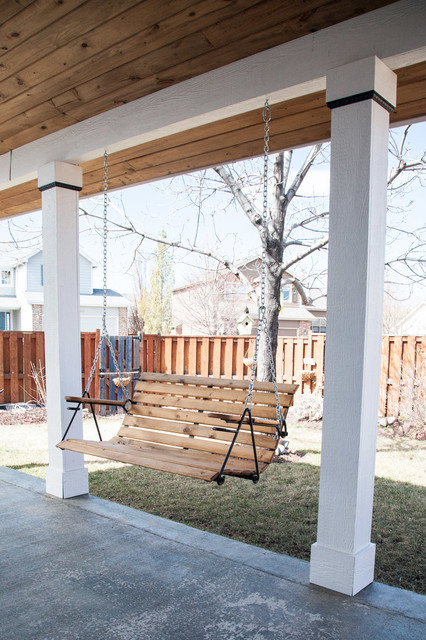 outdoor porch swing modern verandah swings denver