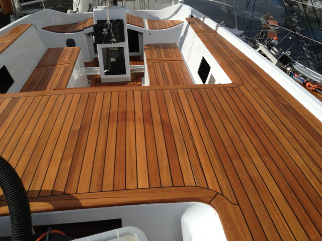 Teak Boat Decking Traditional Hardwood Flooring