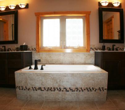Woodland Park Colorado Springs Bath Remodel Rustic Bathroom Other Metro By Dreammaker