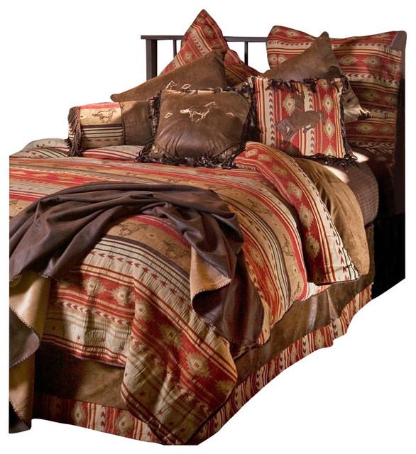 set twin southwestern bedroom furniture sets by carstens