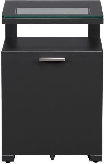 Pilsen Graphite Filing Cabinet - Modern - Filing Cabinets - by Crate&Barrel
