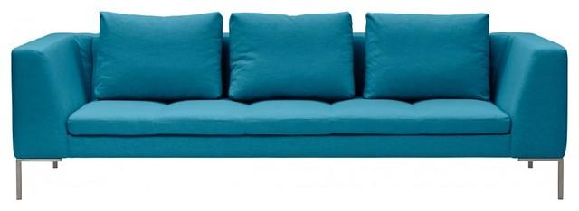 3 sitzer sofa madison t rkis modern sofas by fashion4home gmbh. Black Bedroom Furniture Sets. Home Design Ideas