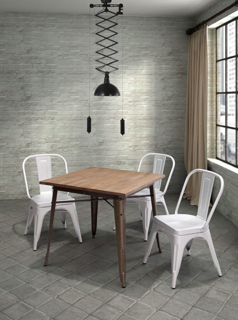 Titus Dining Table Modern Dining Tables Toronto By Lofty Ambitions