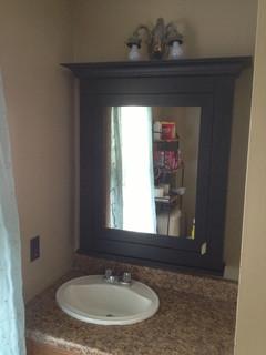 med safe traditional bathroom cabinets shelves
