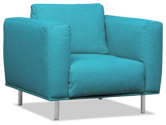 loungesessel liberty t rkis bauhaus look sessel von. Black Bedroom Furniture Sets. Home Design Ideas