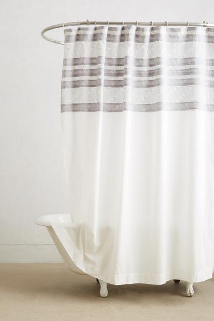 Shadow Stripe Shower Curtain