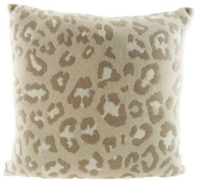 Dennis Basso Printed Knit Pillow - Contemporary - Decorative Pillows - by QVC, Inc.