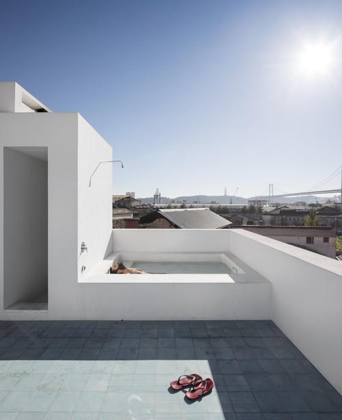 Roof terrace at Casa Prazeres