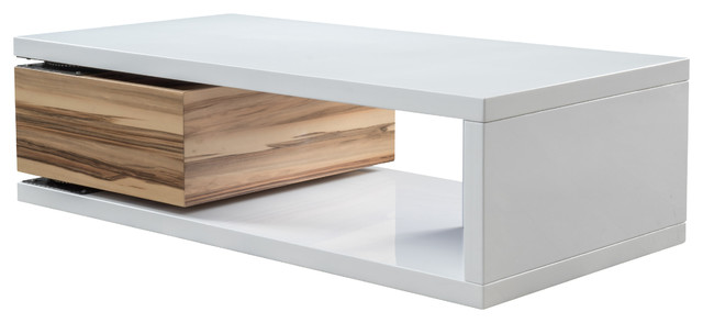 Cullen Rectangular Rotatable Mod Coffee Table Modern Coffee Tables