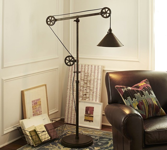 floor lamp traditional floor lamps other metro by pottery barn. Black Bedroom Furniture Sets. Home Design Ideas