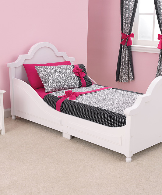 White Raleigh Toddler Bed