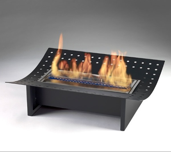 Eco feu 2 5 xl insert contemporary indoor fireplaces other metro by ethanol fireplace pros - Contemporary electric fireplace insert accessories ...