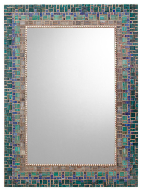 Amazing Other Mosaic Mirrors  Contemporary  Bathroom Mirrors  Other Metro