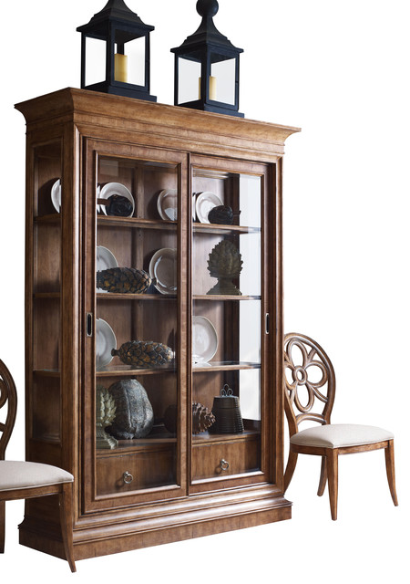 Sunset Canyon Curio Cabinet - Contemporary - Storage Cabinets - by Carolina Rustica
