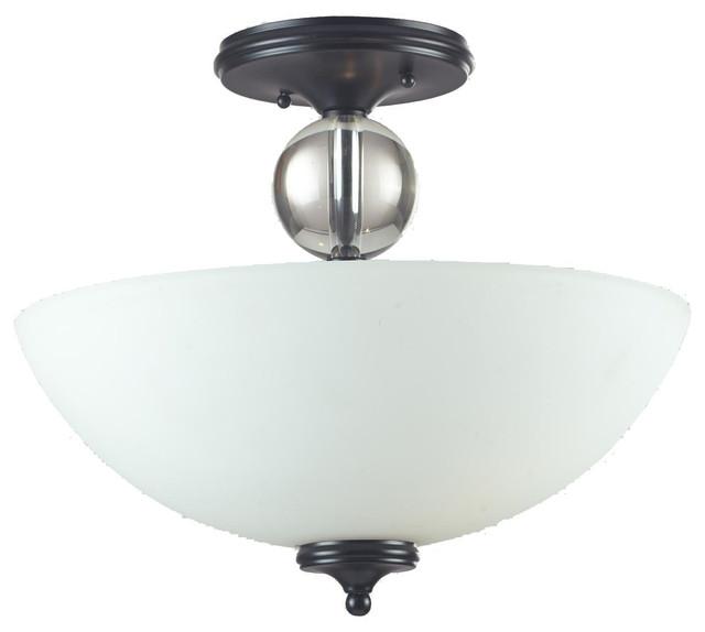 Harmony Semi Flush Light Fixture Contemporary Flush Mount Ceiling Lightin