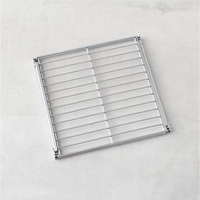 Max Chrome 16 Individual Shelf Contemporary Display