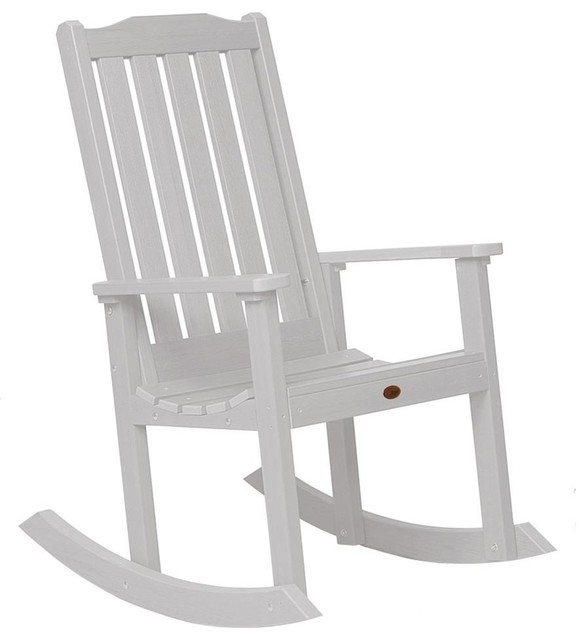 eco friendly rocking chair in white contemporain chaise et fauteuil bascule par shopladder. Black Bedroom Furniture Sets. Home Design Ideas