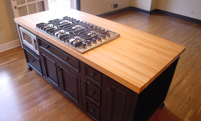 Kitchen Island Countertops Interiors Design