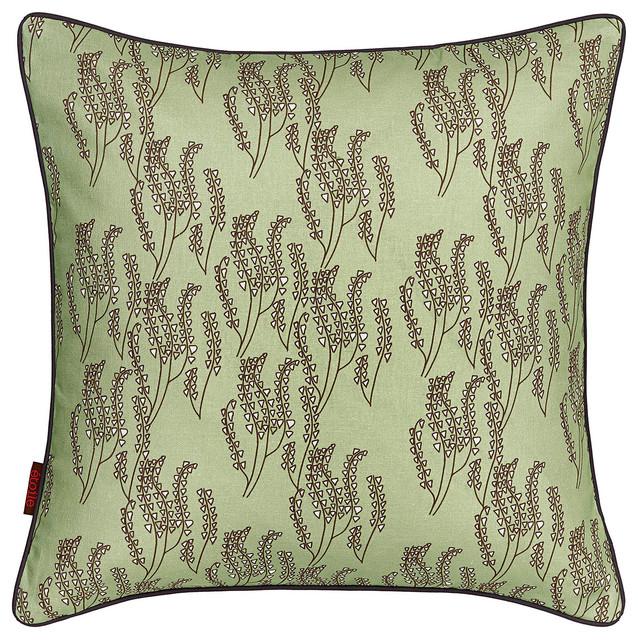 Maricopa cushions eau de nil green modern scatter for Eau de nil bedroom ideas