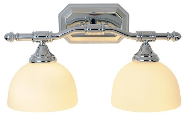 "Monument Lighting 617091 Decorative 4 Light Vanity Fixture: Two Light Decorative 18"" Vanity Fixture, Brushed Nickel"