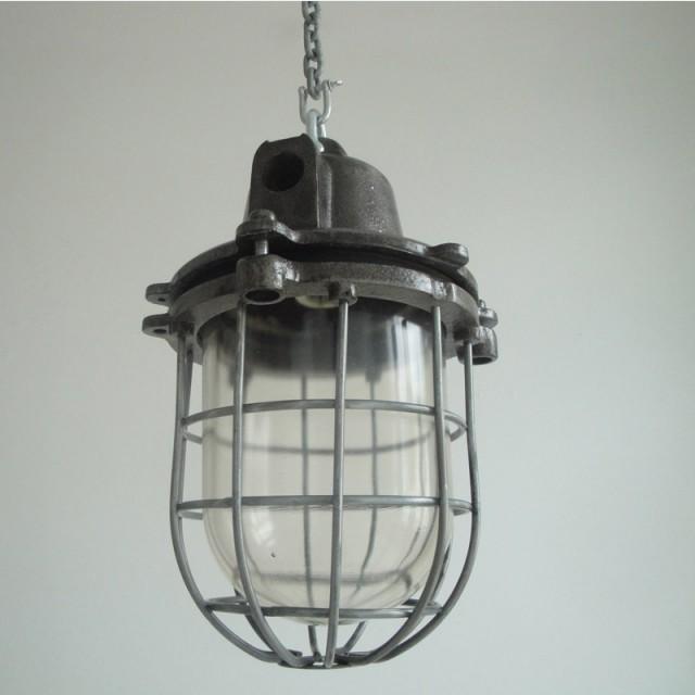 Original Warehouse Pendant Light: Czechoslovakian Factory Lights (Large)