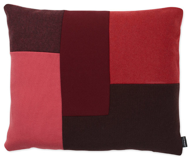 brick kissen rot normann copenhagen skandinavisch. Black Bedroom Furniture Sets. Home Design Ideas