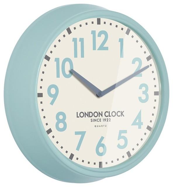 hendrix wall clock contemporary wall clocks east