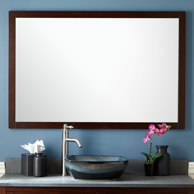 "48"" Everett Vanity Mirror Modern Bathroom Mirrors by"