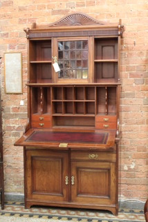 Mahogany Bureau Bookcase Traditional Furniture Geelong By China Rose Antiques