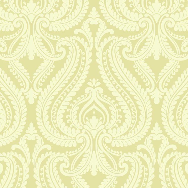 imperial green modern damask wallpaper contemporary